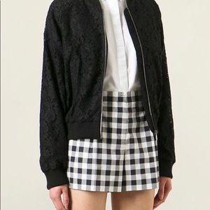 Dolce and Gabbana lace bomber jacket